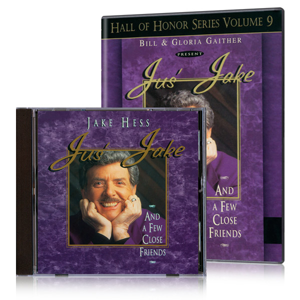 Jake Hess:  Jus Jake And A Few Close Friends DVD & CD
