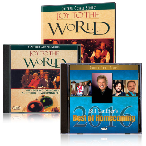Joy To The World DVD/CD w/bonus Best Of Homecoming 2016 CD