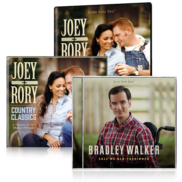 Joey+Rory: Country Classics DVD/CD w/bonus Bradley Walker: Call Me Old Fashioned CD