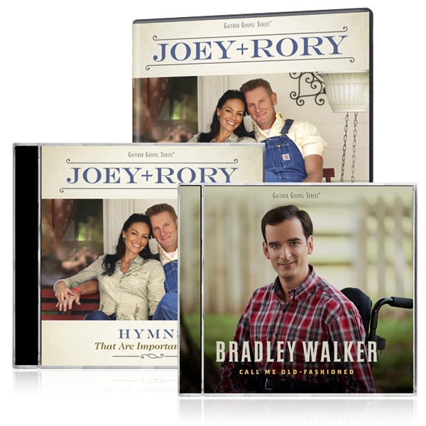 Joey+Rory: Hymns DVD/CD w/bonus Bradley Walker: Call Me Old Fashioned CD