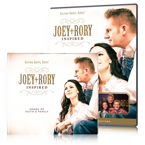 Joey+Rory: Inspired DVD & CD