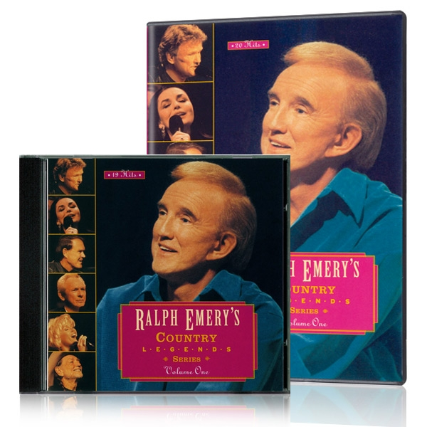 Ralph Emerys Country Legends Series Vol. 1 DVD & CD