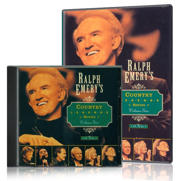 Ralph Emerys Country Legends Series Vol. 2 DVD & CD