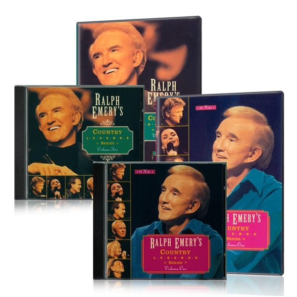 Ralph Emerys Country Legends Series Vol. 1 & 2, DVDs & CDs