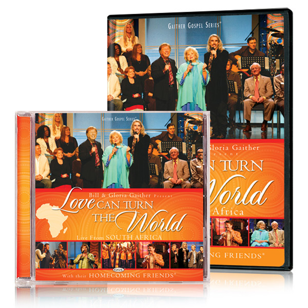 Love Can Turn The World DVD & CD