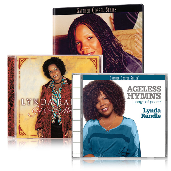 Best Of Lynda Randle DVD God On The Mountain CD w/bonus Ageless Hymns: Songs Of Peace CD