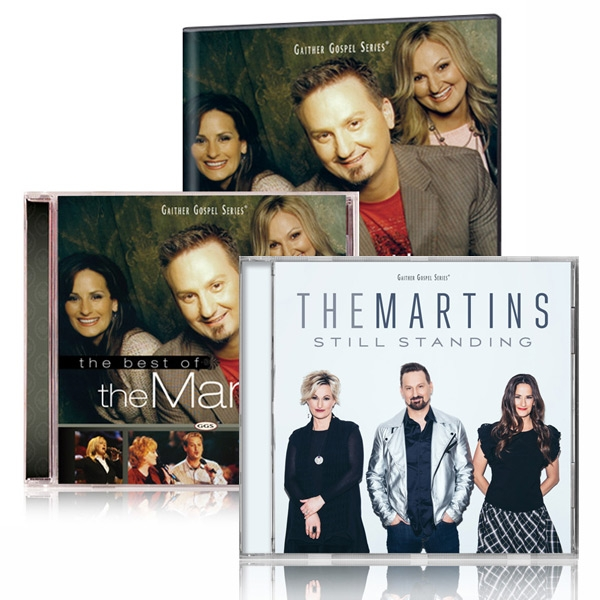 The Best Of The Martins DVD/CD w/Still Standing CD