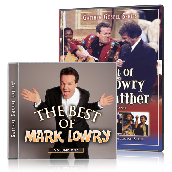 The Best Of Mark Lowry & Bill Gaither Vol. 1 DVD w/ The Best Of Mark Lowry CD