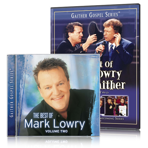 The Best Of Mark Lowry & Bill Gaither Vol. 2 DVD w/ The Best Of Mark Lowry CD
