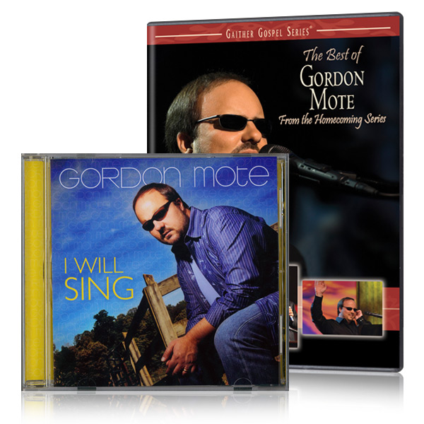 The Best of Gordon Mote DVD with I Will Sing CD