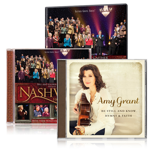 Nashville Homecoming DVD/CD w/bonus Amy Grant Hymns CD