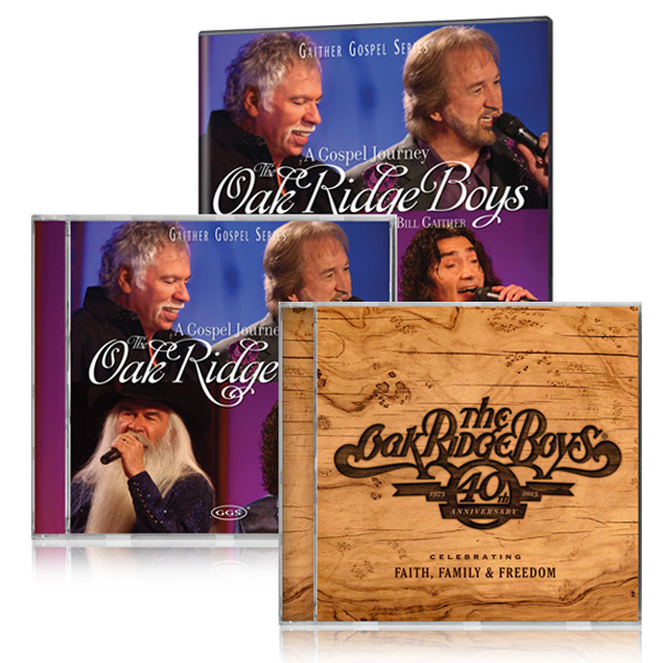 The Oak Ridge Boys: Gospel Journey DVD & CD w/40th Anniversary CD