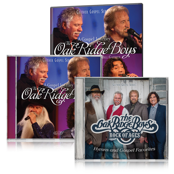 Oak Ridge Boys: Gospel Journey DVD/CD w/bonus Oak Ridge Boys Rock Of Ages CD