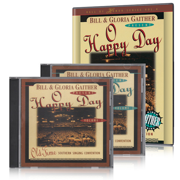 O Happy Day DVD & 2 CDs