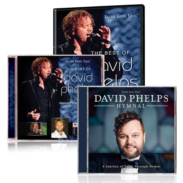 Best Of David Phelps DVD/CD w/bonus David Phelps: Hymnal CD