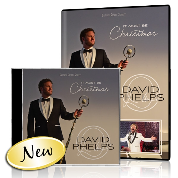 David Phelps: It Must Be Christmas DVD & CD