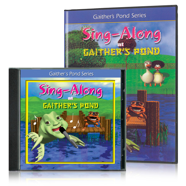 Sing-A-Long Gaithers Pond DVD & CD
