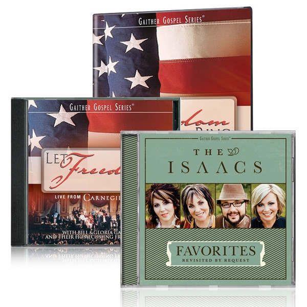 Let Freedom Ring DVD/CD w/Isaacs Favorites Revisited CD