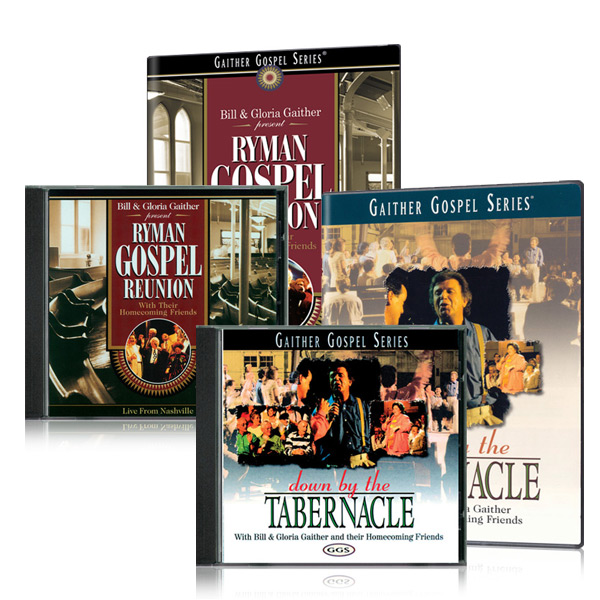 Ryman Gospel Reunion DVD/CD w/bonus Down By The Tabernacle DVD/CD