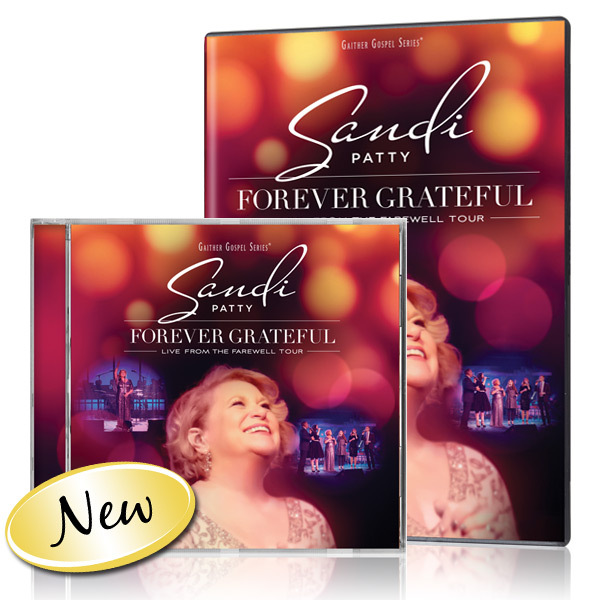 Sandi Patty - Forever Grateful DVD/CD