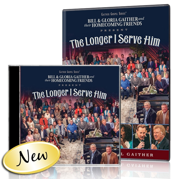 The Longer I Serve Him DVD & CD