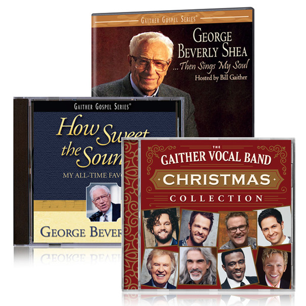 George Beverly Shea: Then Sings My Soul DVD & How Sweet The Sound CD w/ GVB Christmas Collection