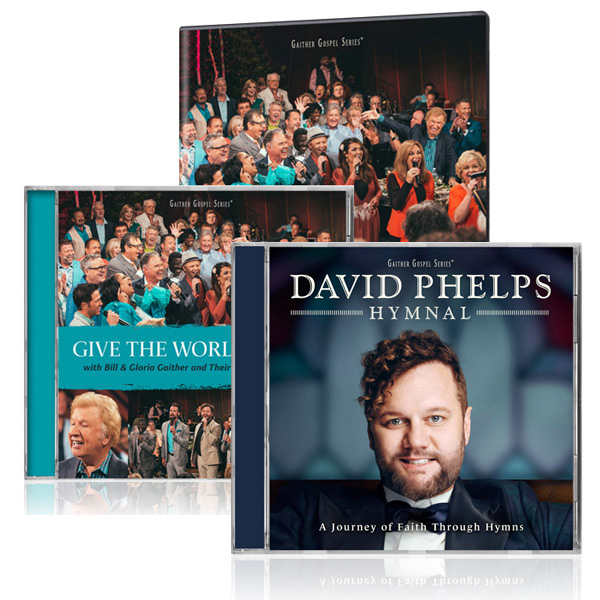 Give The World A Smile DVD/CD w/bonus David Phelps Hymnal CD