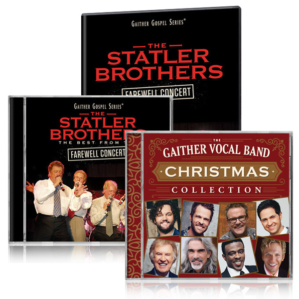 Statler Brothers Farewell DVD/CD w/bonus GVB: Christmas Collection CD