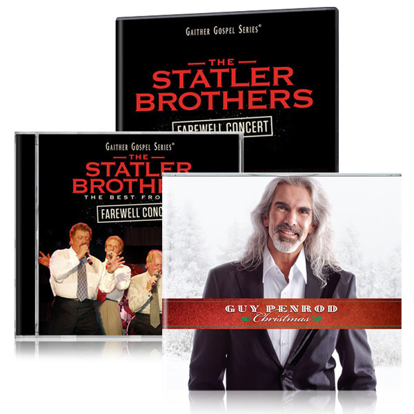 Statler Brothers Farewell Concert DVD & CD w/bonus Guy Penrod Christmas CD