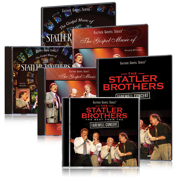 Gospel Music Of The Statler Bros. Vol 1 & 2 DVDs/CDs w/ Farewell Concert DVD/CD