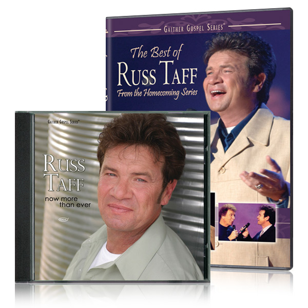 The Best Of Russ Taff DVD with Now More Than Ever CD
