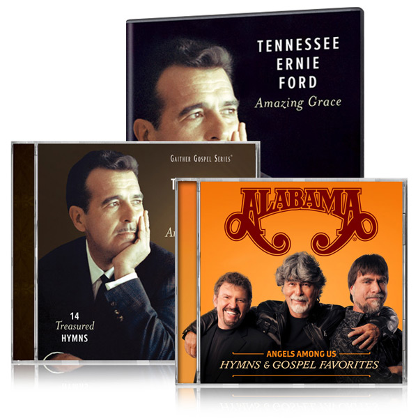 Tennessee Ernie Ford: Amazing Grace DVD/CD w/bonus Alabama Angels Among Us CD