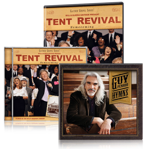 Tent Revival Homecoming DVD/CD w/bonus Guy Penrod: Hymns CD