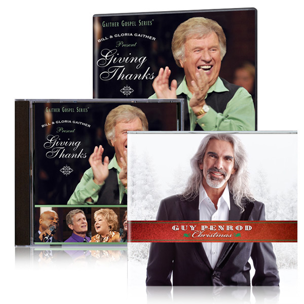 Giving Thanks DVD/CD w/bonus Guy Penrod Christmas CD