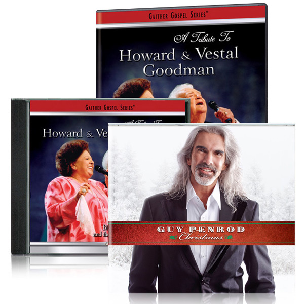 Tribute To Howard & Vestal Goodman DVD/CD w/bonus Guy Penrod: Christmas CD