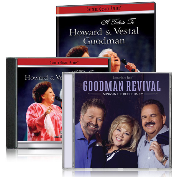 Tribute To Howard & Vestal Goodman DVD/CD w/Goodman Revival: Songs In The Key Of Happy CD