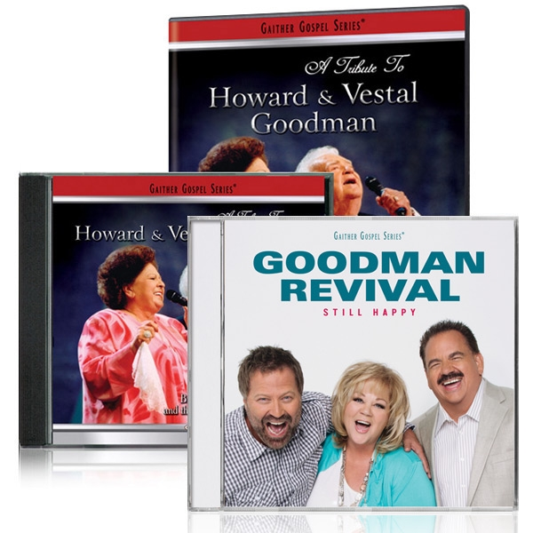 Tribute To The Goodmans DVD/CD w/bonus Goodman Revival: Still Happy CD