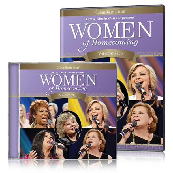 Women Of Homecoming Volume 2 DVD & CD