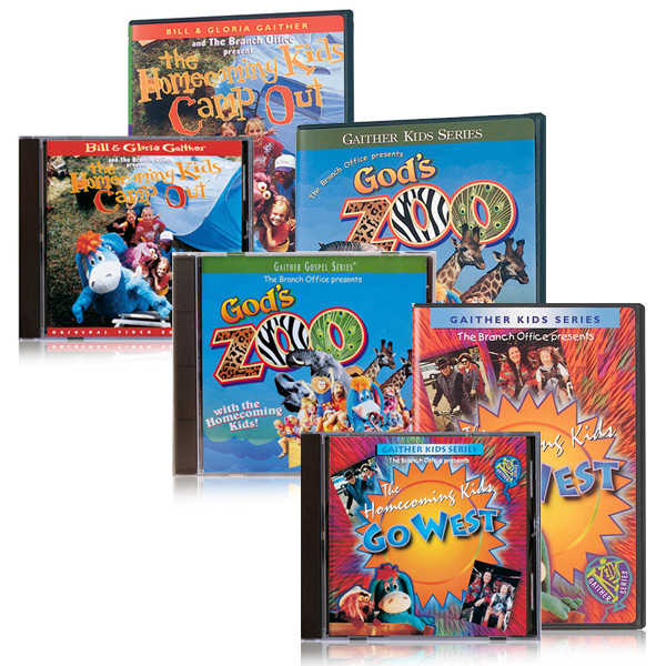 Gods Zoo/Go West/Campout DVDs/CDs
