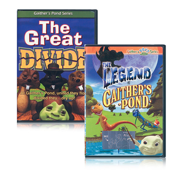 The Great Divide DVD & The Legend At Gaithers Pond  DVD