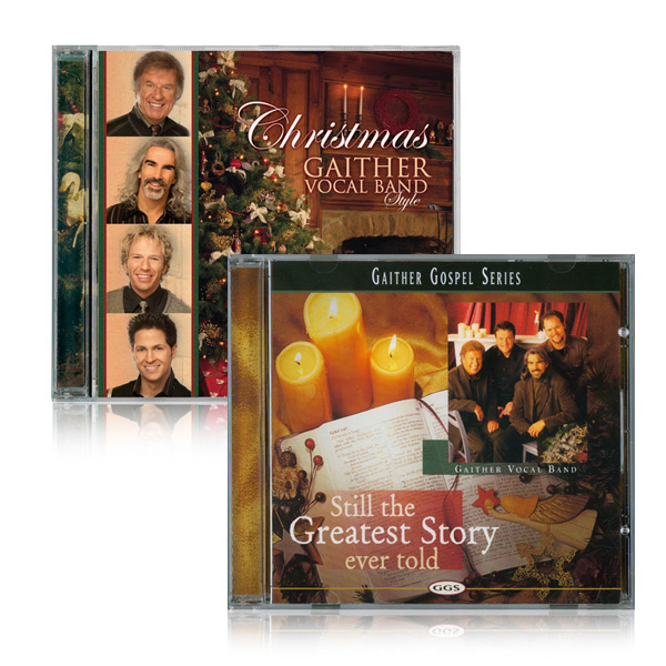 Gaither Vocal Band Christmas CD 2pk