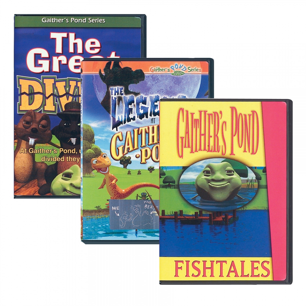 The Legend At Gaithers Pond/Great Divide/Fishtales DVDs