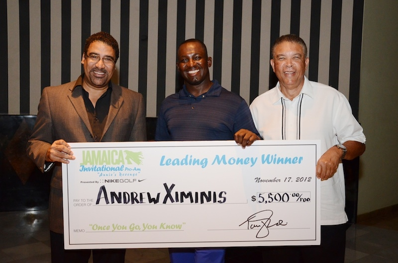 2012 Leading Money Winner Andrew Ximines