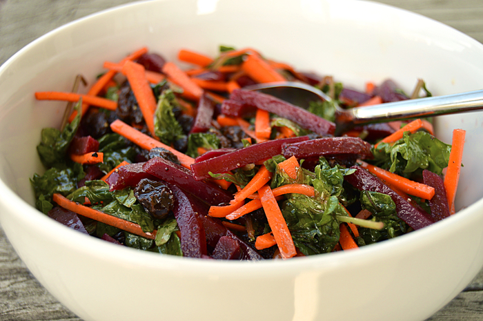 A Taste of the Good Life: Sweet Heat Beet & Baby Kale Salad
