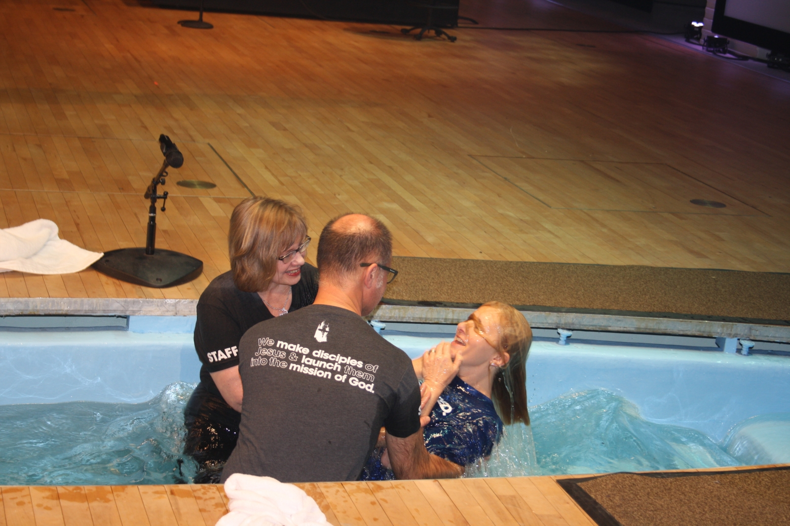Surrender: Not My First Baptism