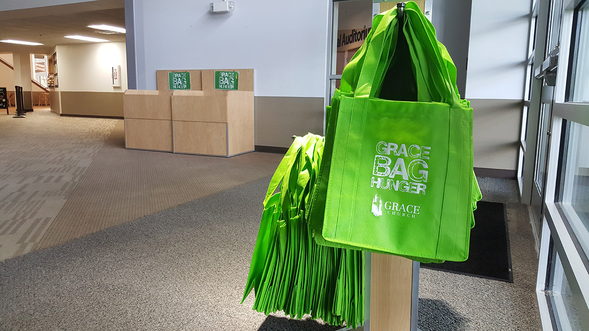 Green Bag = Hope, Dignity, Change