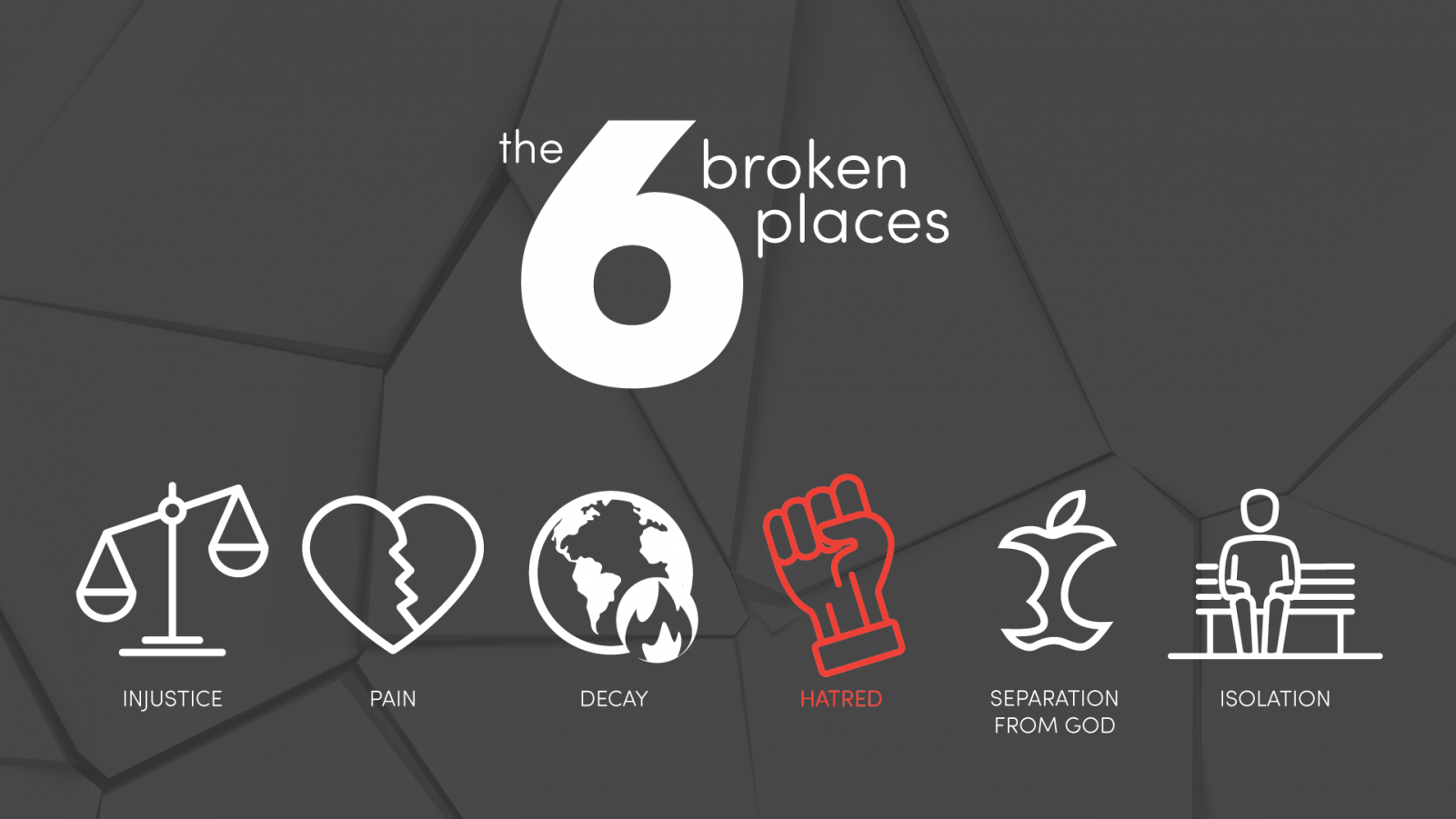 My Why To Live For: Healing the Broken Place of Hatred