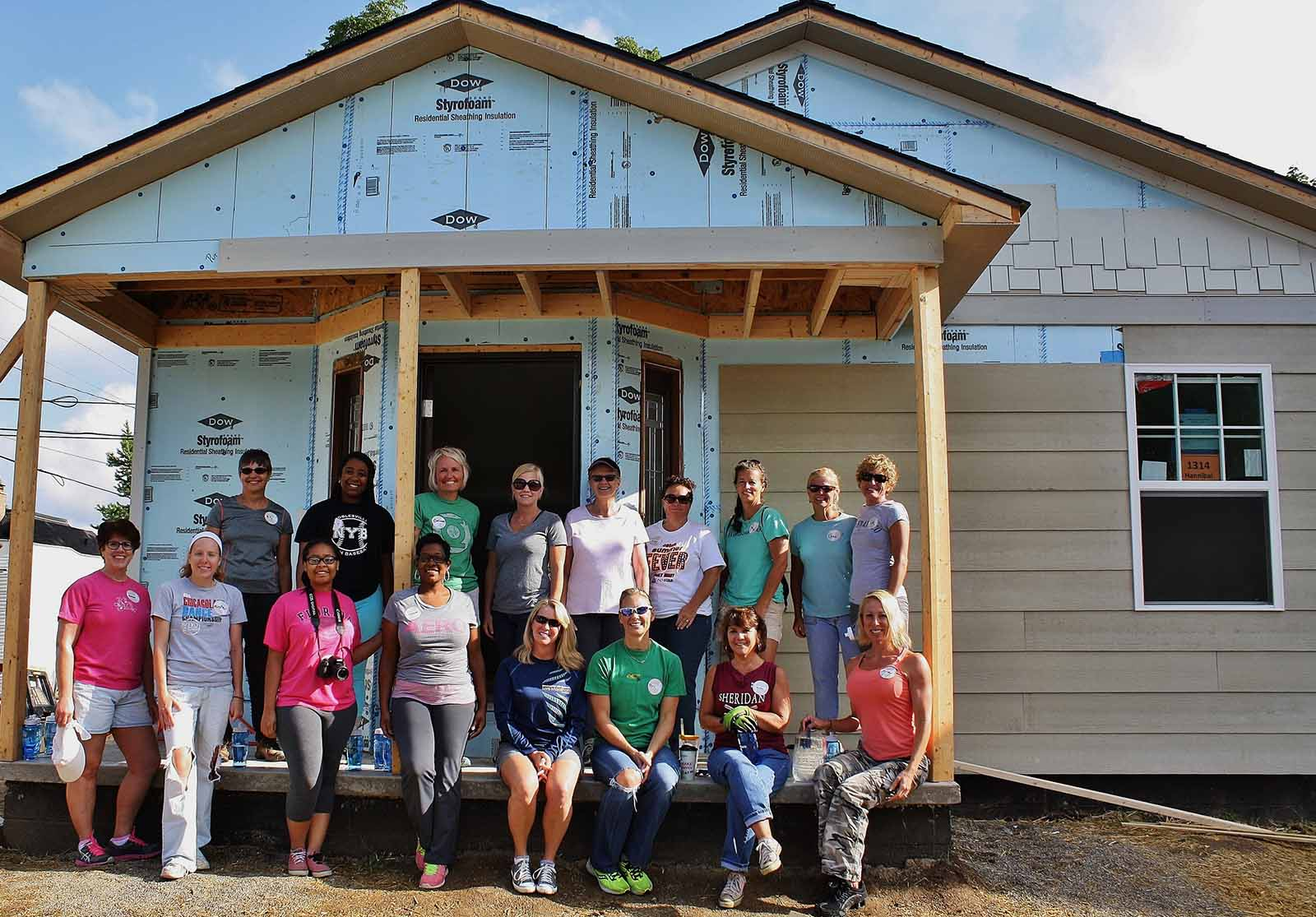 Women's Habitat for Humanity Build