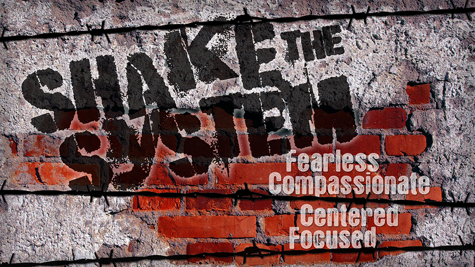 Shake the System: Fearless, Compassionate, Centered, Focused