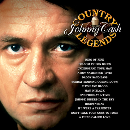COUNTRY LEGENDS: JOHNNY CASH